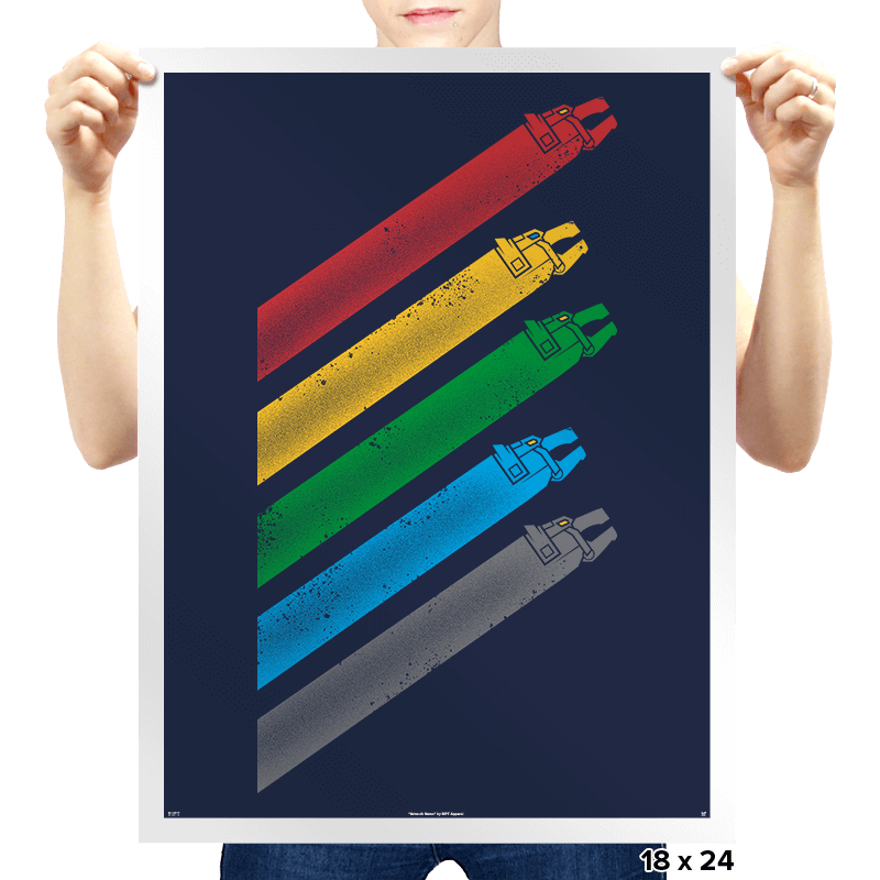 Go Lion Force! - Prints - Posters - RIPT Apparel
