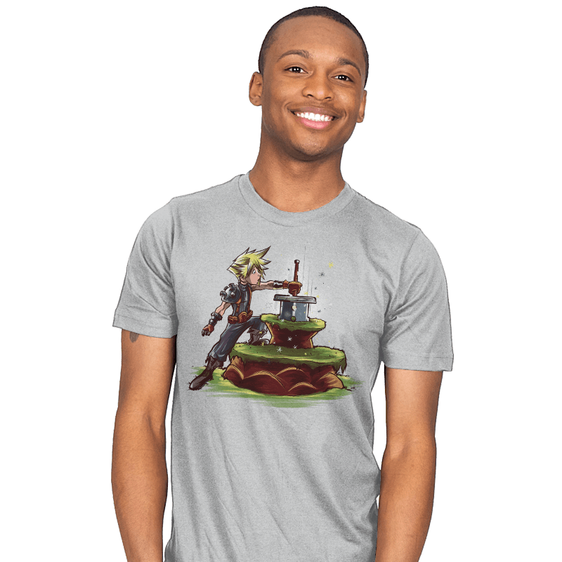 Buster Sword in the Stone - Mens - T-Shirts - RIPT Apparel