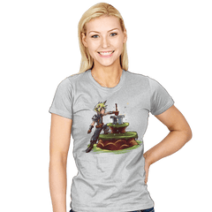 Buster Sword in the Stone - Womens - T-Shirts - RIPT Apparel