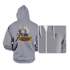 Buster Sword in the Stone - Hoodies - Hoodies - RIPT Apparel