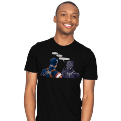 Captain Panther - Mens - T-Shirts - RIPT Apparel