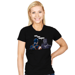 Captain Panther - Womens - T-Shirts - RIPT Apparel