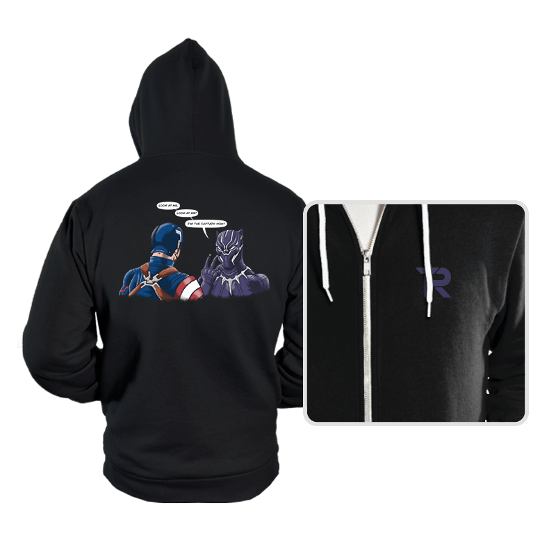 Captain Panther - Hoodies - Hoodies - RIPT Apparel