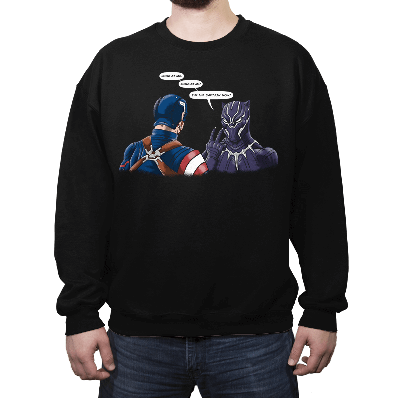 Captain Panther - Crew Neck - Crew Neck - RIPT Apparel
