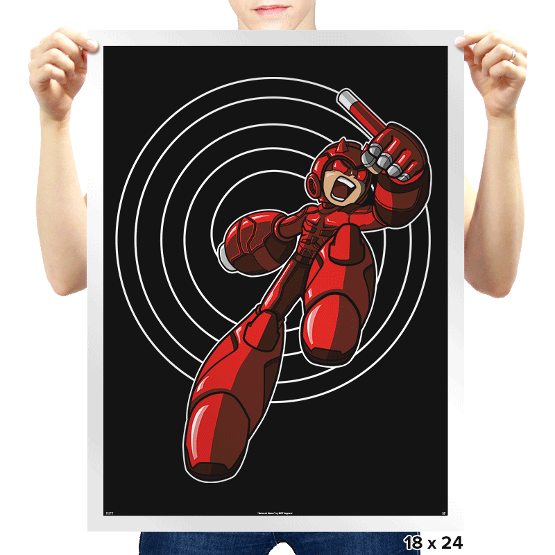 Mega Devil - Prints - Posters - RIPT Apparel