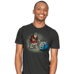 Dinosaurs world - Mens - T-Shirts - RIPT Apparel