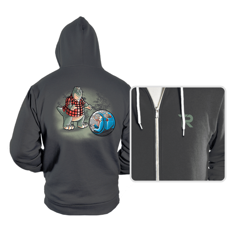 Dinosaurs world - Hoodies - Hoodies - RIPT Apparel