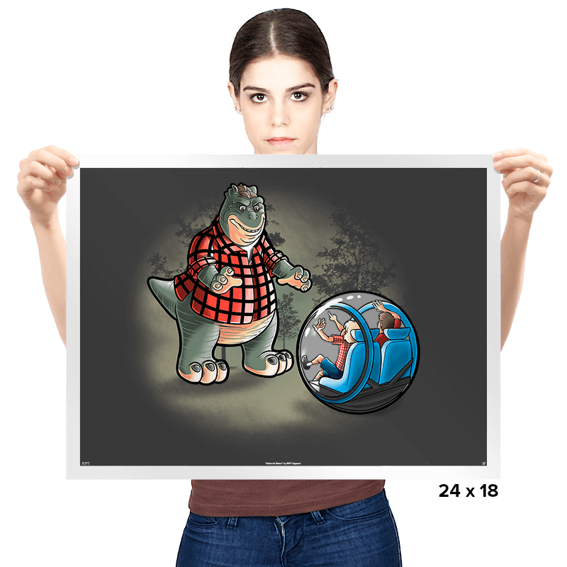 Dinosaurs world - Prints - Posters - RIPT Apparel