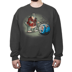 Dinosaurs world - Crew Neck - Crew Neck - RIPT Apparel