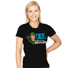 Starling City's Archer - Womens - T-Shirts - RIPT Apparel