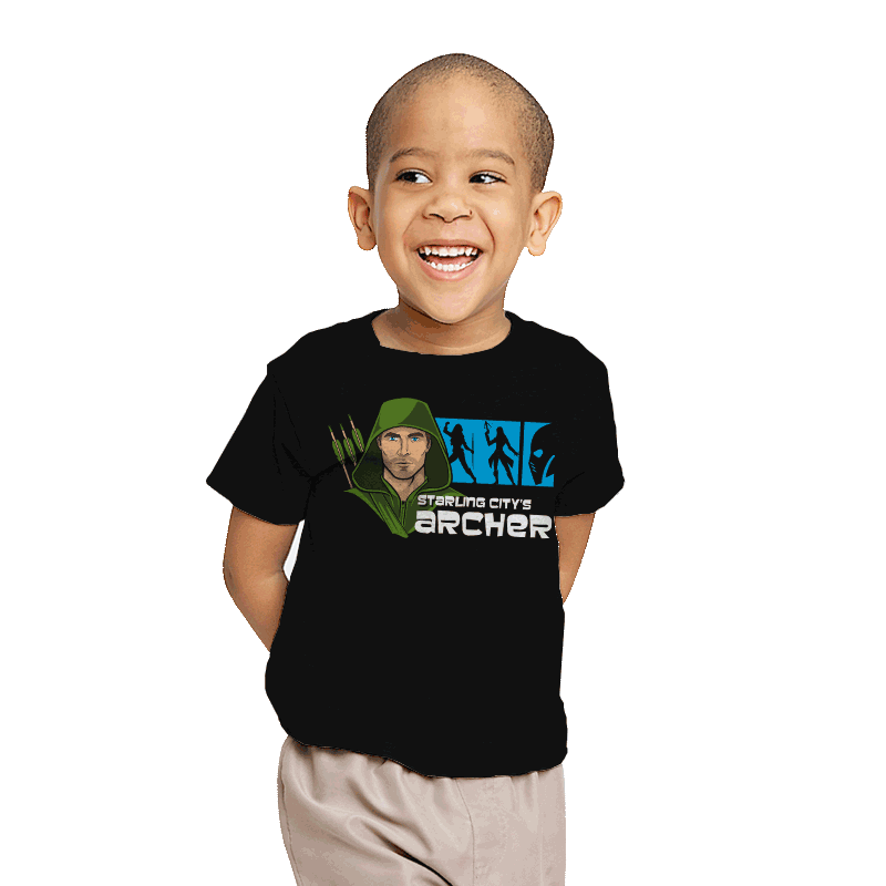 Starling City's Archer - Youth - T-Shirts - RIPT Apparel