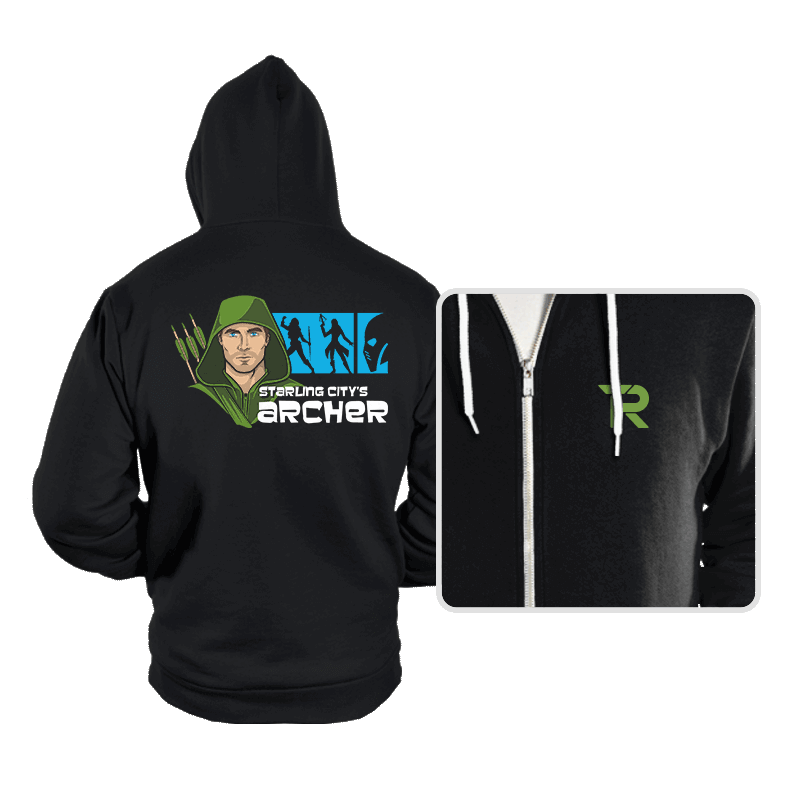 Starling City's Archer - Hoodies - Hoodies - RIPT Apparel