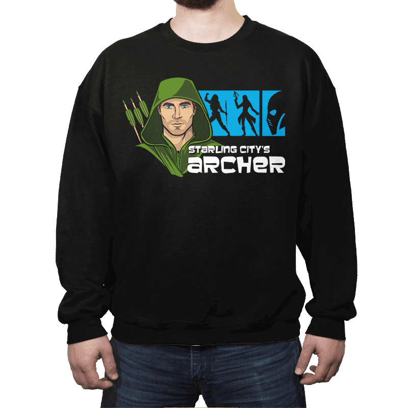 Starling City's Archer - Crew Neck - Crew Neck - RIPT Apparel