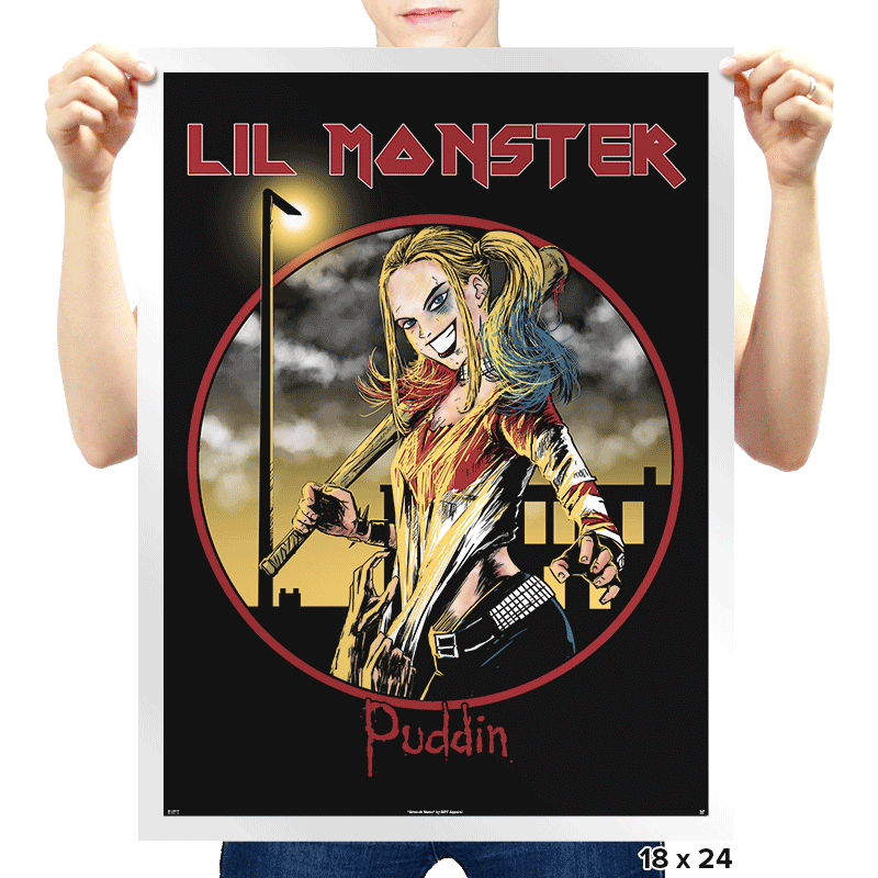 Lil' Maiden - Prints - Posters - RIPT Apparel