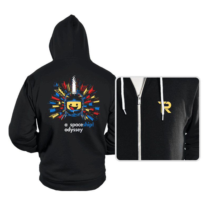 A Spaceship Odyssey - Hoodies - Hoodies - RIPT Apparel