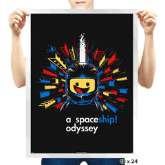 A Spaceship Odyssey - Prints - Posters - RIPT Apparel
