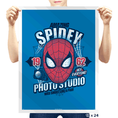 Spidey Photo Studio - Prints - Posters - RIPT Apparel