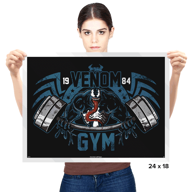 Venom Gym - Prints - Posters - RIPT Apparel