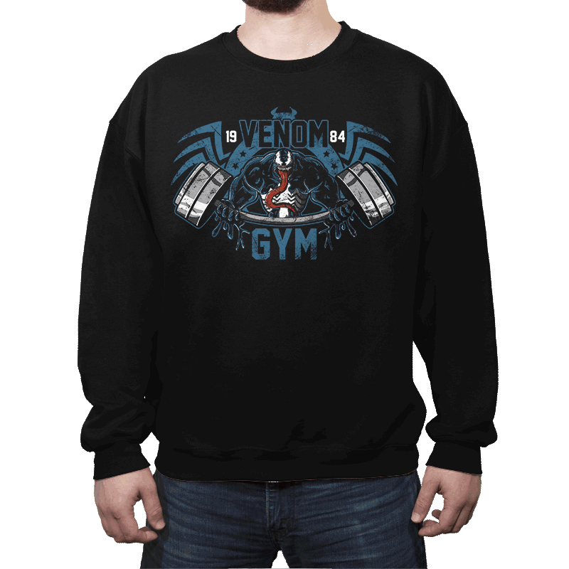 Venom Gym - Crew Neck - Crew Neck - RIPT Apparel