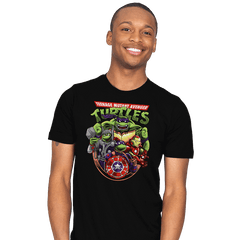 Teenage Mutant Avenger Turtles - Mens - T-Shirts - RIPT Apparel