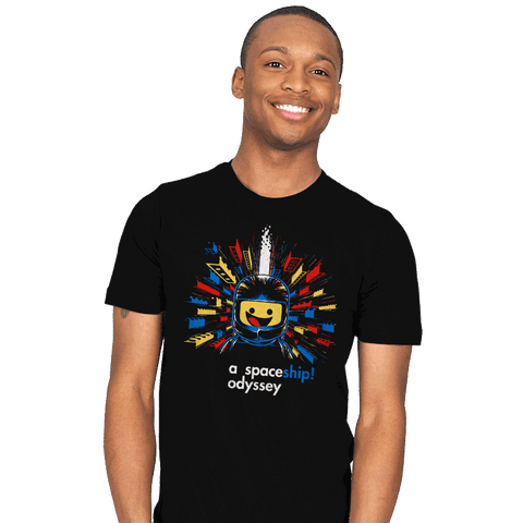 A Spaceship Odyssey Exclusive - Mens - T-Shirts - RIPT Apparel