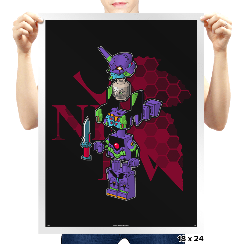 Evangelibrick Exclusive - Prints - Posters - RIPT Apparel
