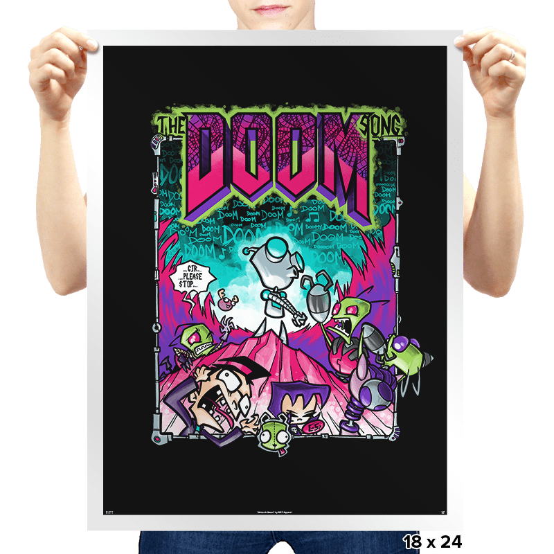 The Doom Song Exclusive - Prints - Posters - RIPT Apparel