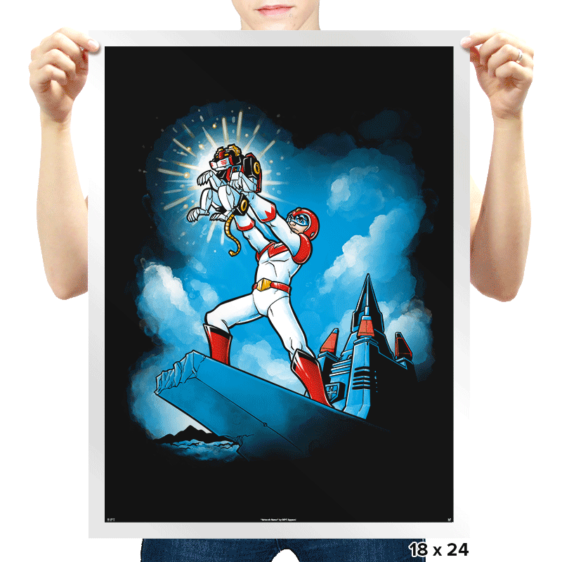 The GoLion King Exclusive - Prints - Posters - RIPT Apparel