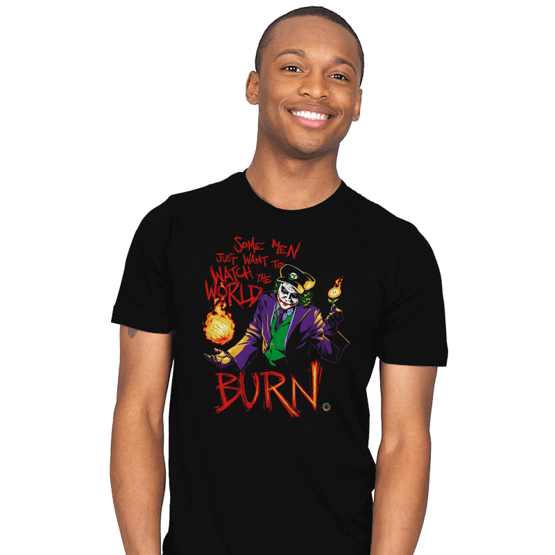Watch The World Burn Exclusive - Mens - T-Shirts - RIPT Apparel