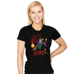 Watch The World Burn Exclusive - Womens - T-Shirts - RIPT Apparel