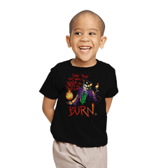 Watch The World Burn Exclusive - Youth - T-Shirts - RIPT Apparel