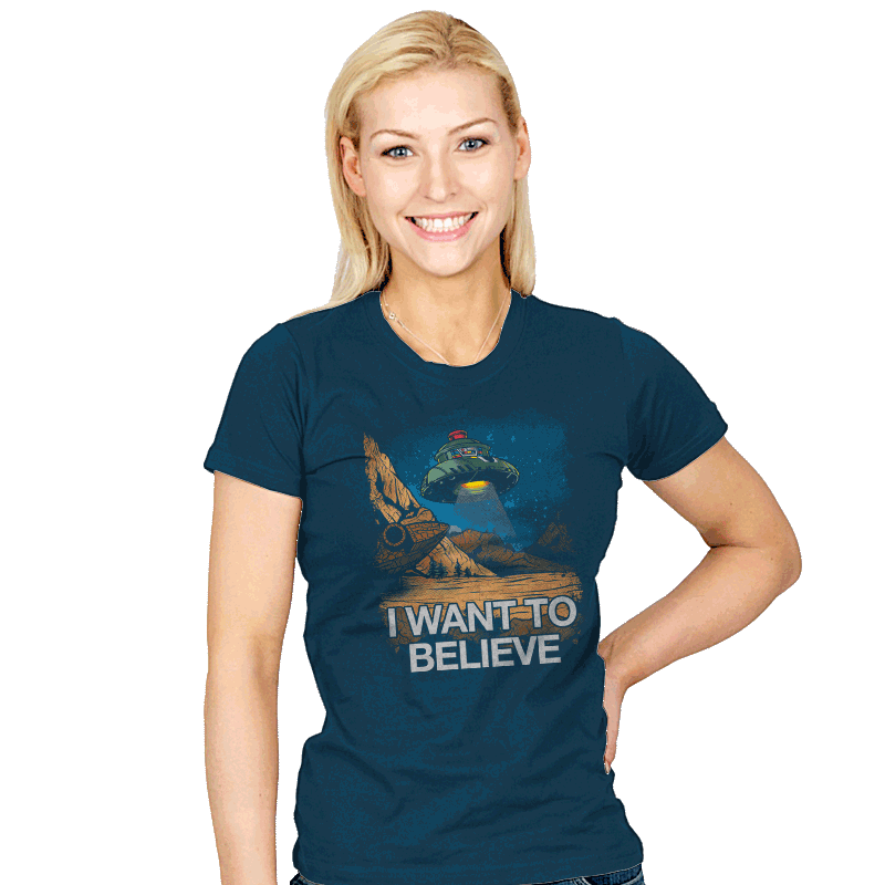Believe In the Cosmos Exclusive - Womens - T-Shirts - RIPT Apparel