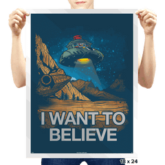 Believe In the Cosmos Exclusive - Prints - Posters - RIPT Apparel