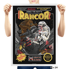 Jabba's Rancor Exclusive - Prints - Posters - RIPT Apparel