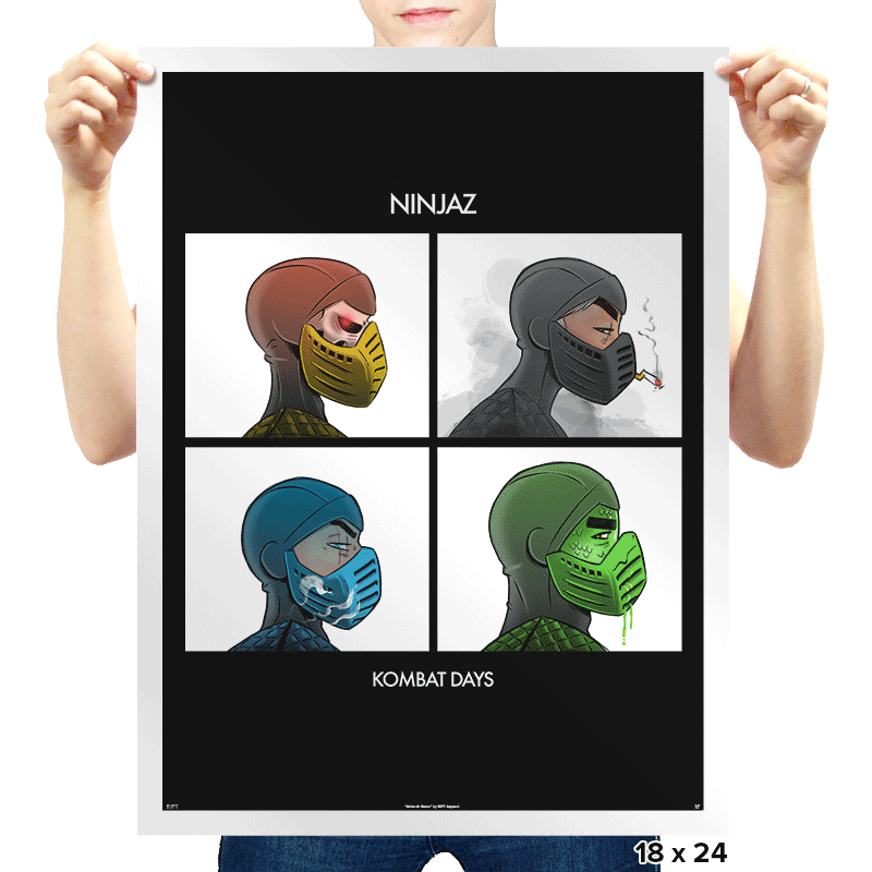 Kombat Days Exclusive - Prints - Posters - RIPT Apparel