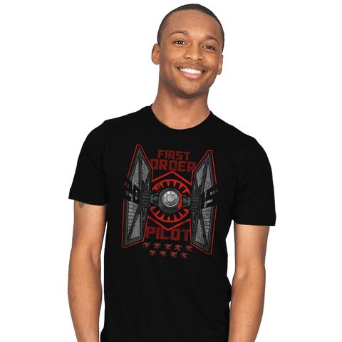Tie Pilot Exclusive - Mens - T-Shirts - RIPT Apparel