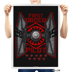 Tie Pilot Exclusive - Prints - Posters - RIPT Apparel