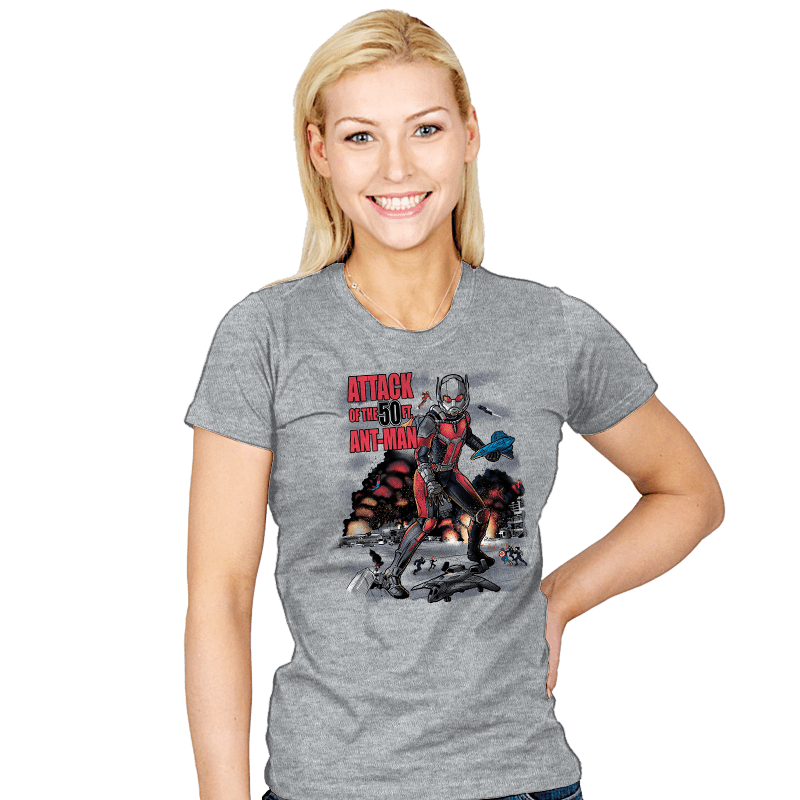 You Look Like Ants From Up Here Exclusive - Womens - T-Shirts - RIPT Apparel