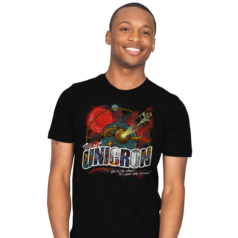 Visit Unicron - Mens - T-Shirts - RIPT Apparel