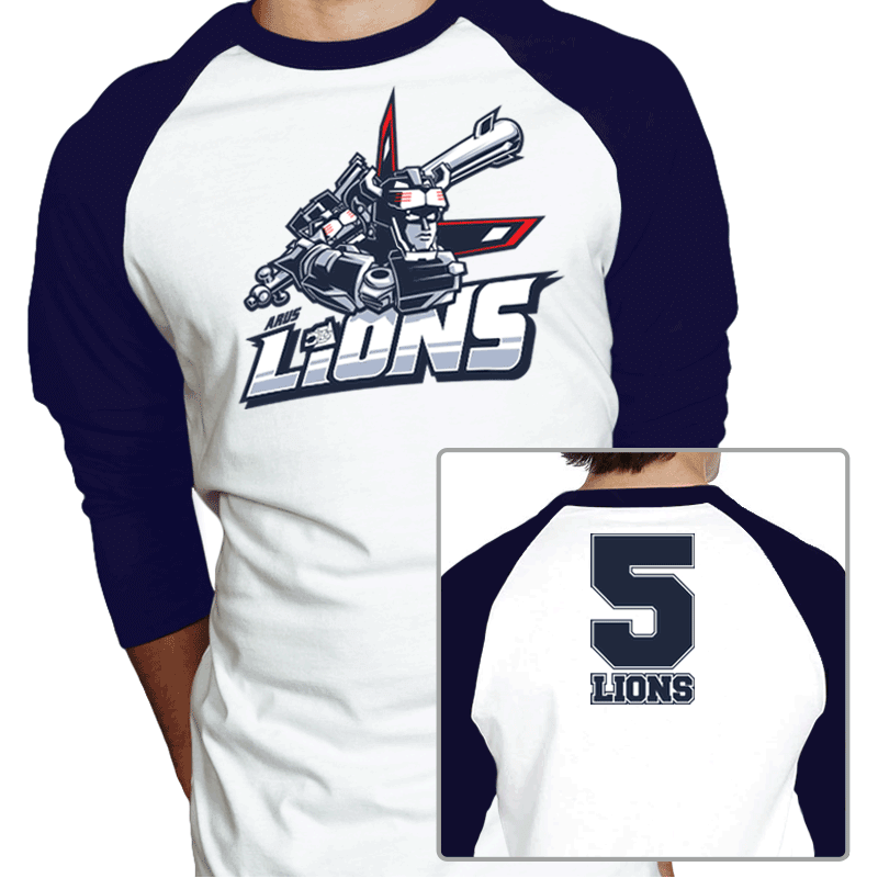 Lions 5 Exclusive - Baseball Shirt - Baseball Shirt - RIPT Apparel