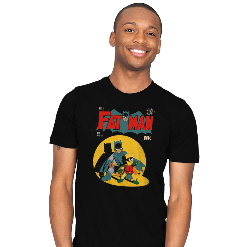 Fat Man - Mens - T-Shirts - RIPT Apparel