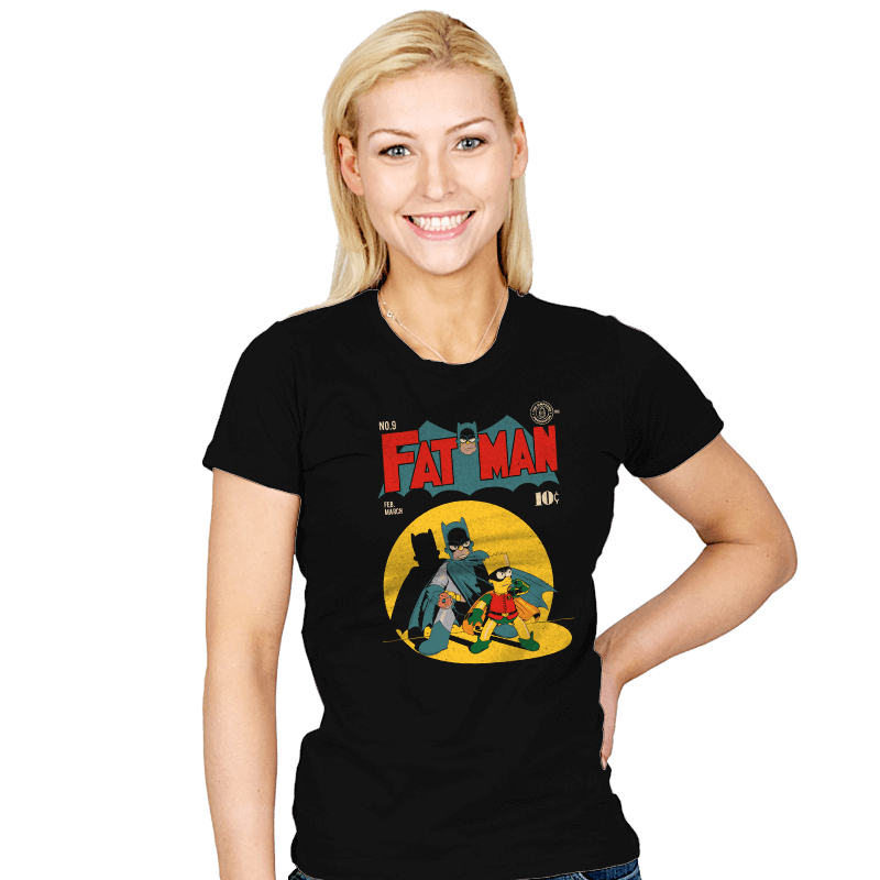 Fat Man - Womens - T-Shirts - RIPT Apparel