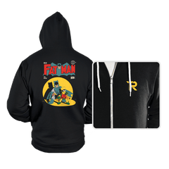 Fat Man - Hoodies - Hoodies - RIPT Apparel