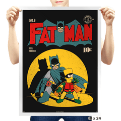 Fat Man - Prints - Posters - RIPT Apparel
