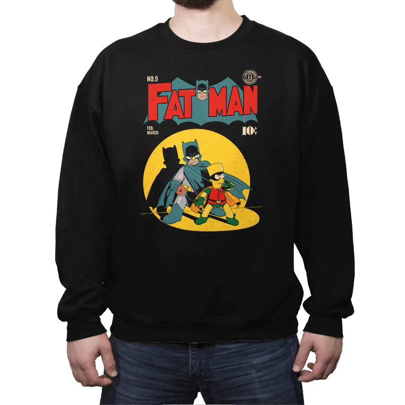Fat Man - Crew Neck - Crew Neck - RIPT Apparel