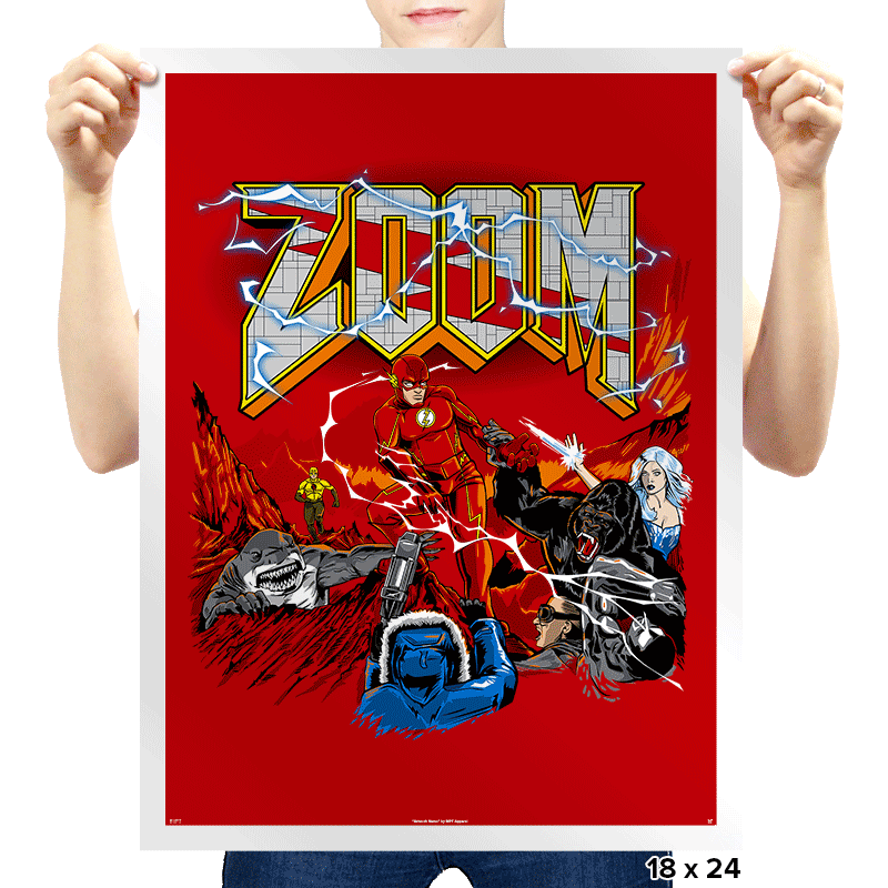 ZoomGuy - Prints - Posters - RIPT Apparel
