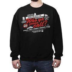 Better Call The Boys in Gray - Crew Neck - Crew Neck - RIPT Apparel