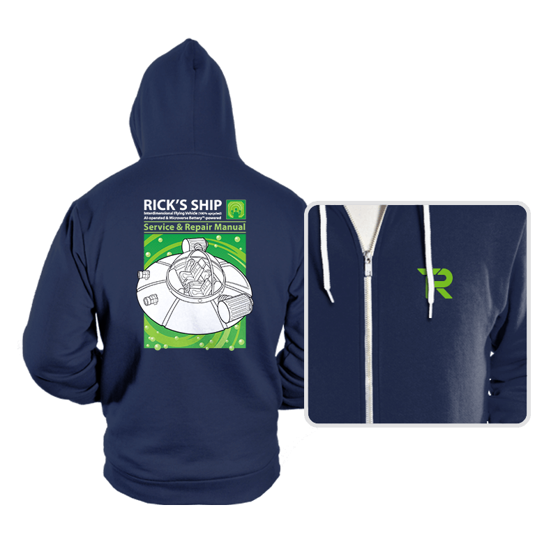 Powered by Microverse - Hoodies - Hoodies - RIPT Apparel