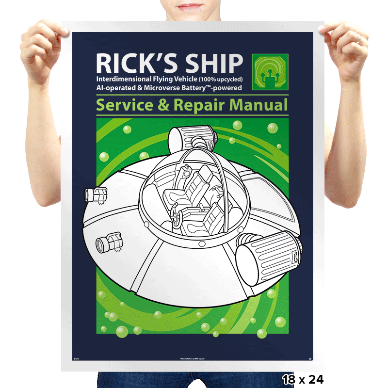 Powered by Microverse - Prints - Posters - RIPT Apparel