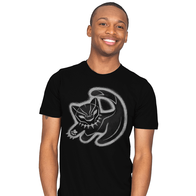 The Panther King - Mens - T-Shirts - RIPT Apparel